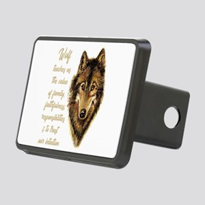 Wolf Totem Animal Spirit G Rectangular Hitch Cover